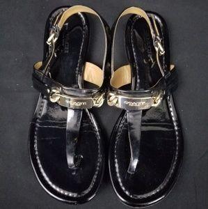Black Coach Sandals Size 7